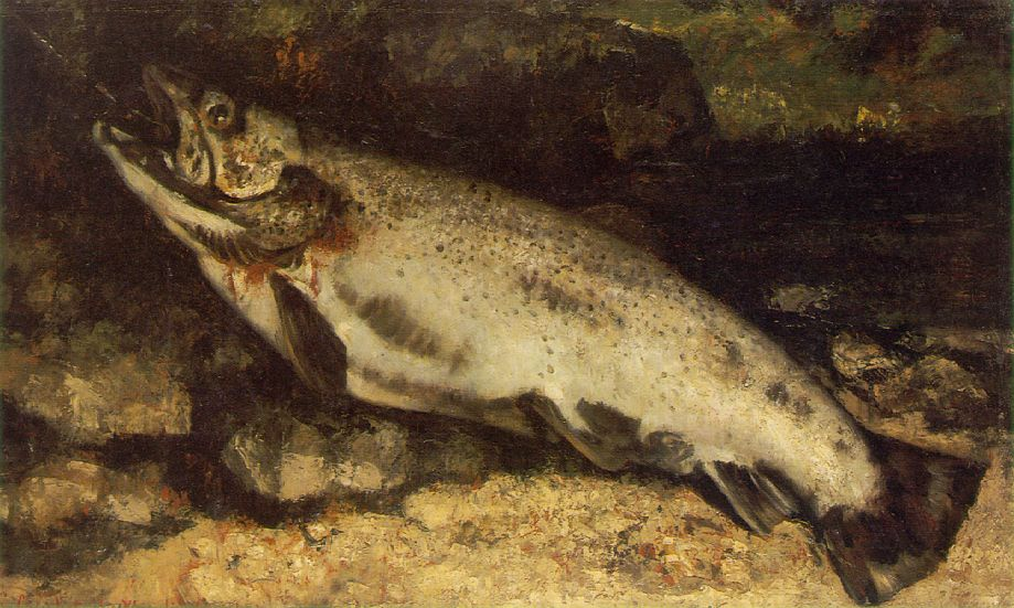 The Trout – Gustave Courbet
