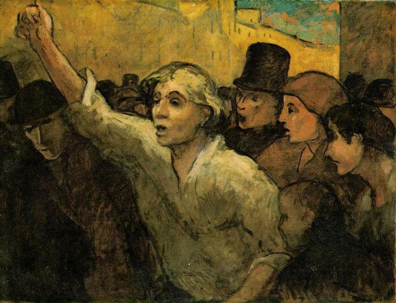 The Uprising – Daumier