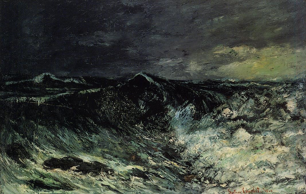 The Wave 2 – Gustave Courbet