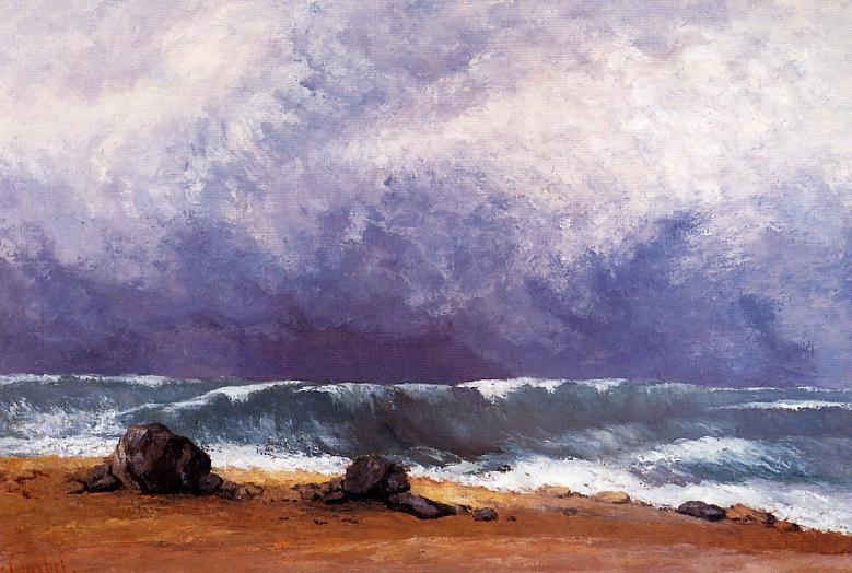 The Wave 3 – Gustave Courbet