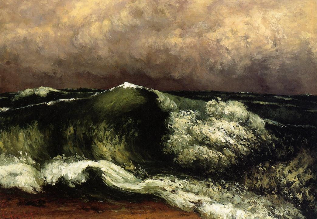 The Wave 4 – Gustave Courbet
