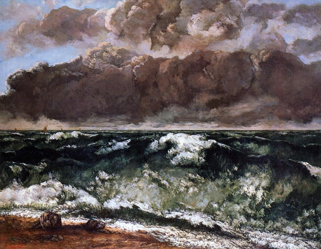 The Wave 5 – Gustave Courbet
