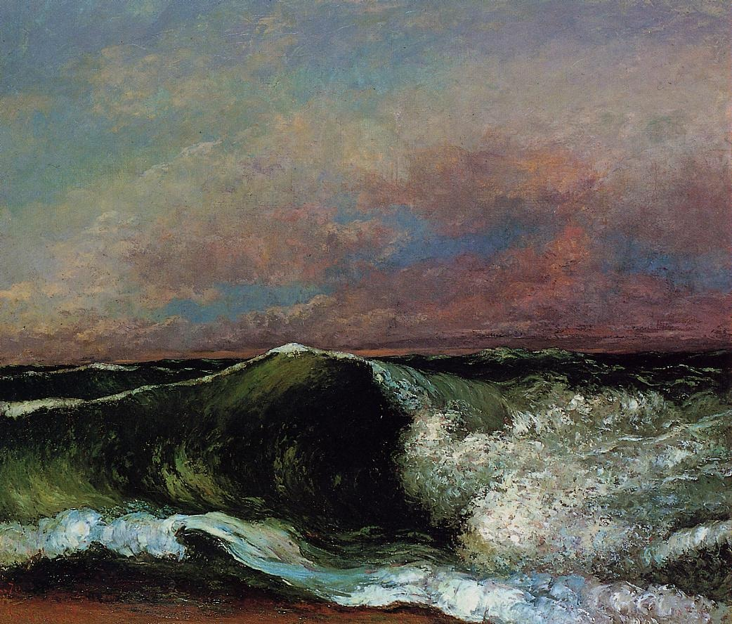 The Wave 6 – Gustave Courbet