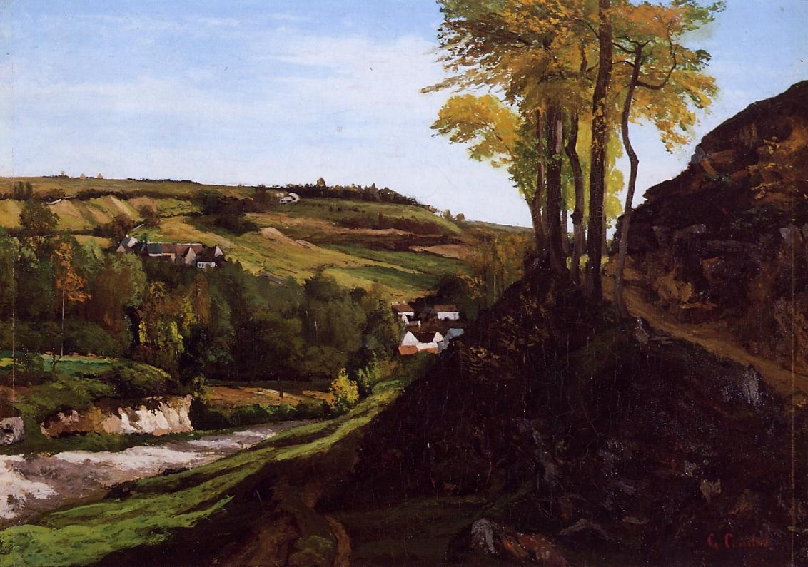 Valley of Ornans – Gustave Courbet