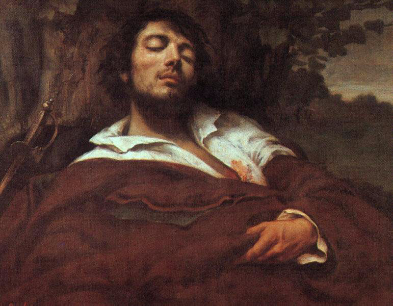 Wounded Man – Gustave Courbet